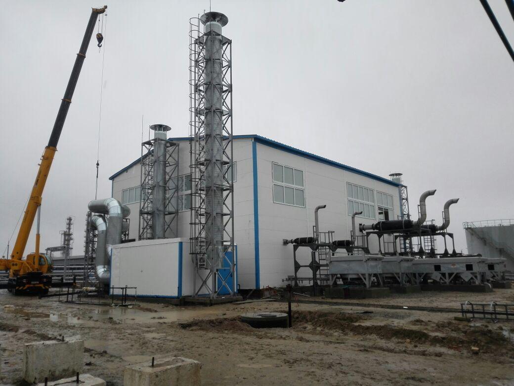 Газовая компрессорная станция